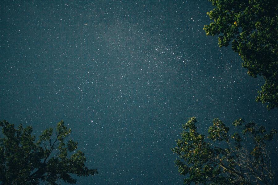 フリー写真 星空の風景