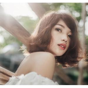 フリー写真, 人物, 女性, アジア人女性, 女性(00201), ベトナム人, ショートヘア