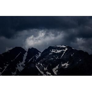 フリー写真, 風景, 自然, 山, 雲, 暗雲, アメリカの風景, コロラド州