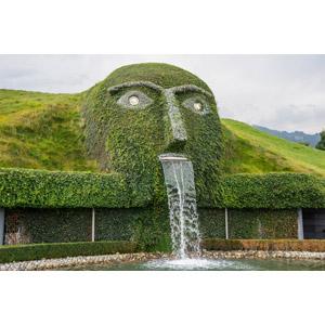 フリー写真, 風景, オブジェ, 噴水, スワロフスキー・クリスタル・ワールド, チロル, オーストリアの風景