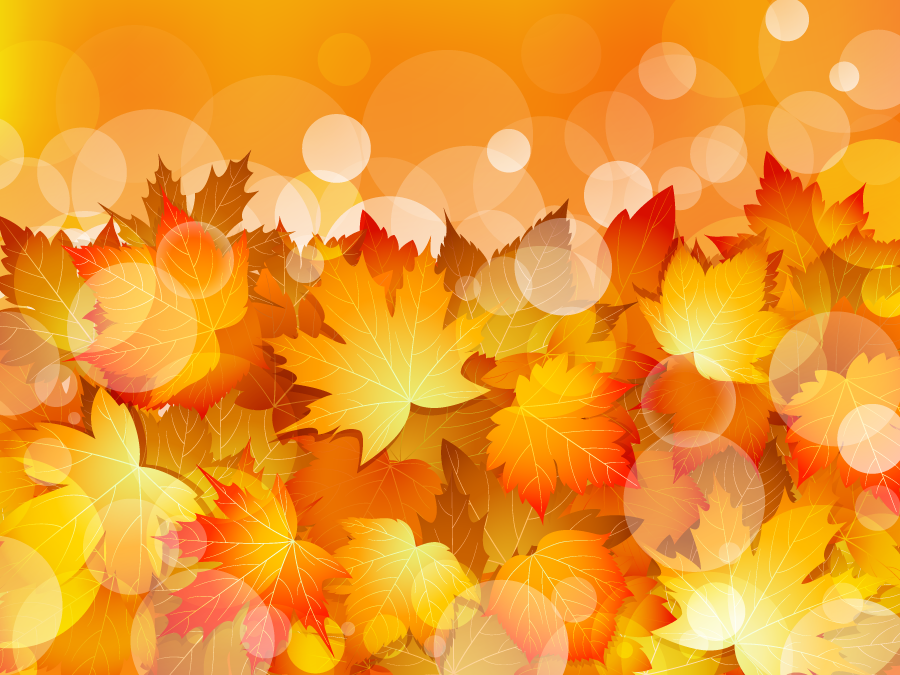 フリー イラスト紅葉したカエデの葉っぱの背景