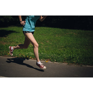 フリー写真, 人物, 女性, 脚, 運動, フィジカルトレーニング, ジョギング, 走る