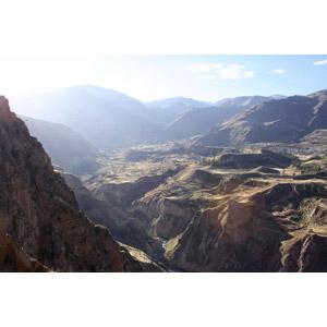 フリー写真, 風景, 山, 渓谷, 棚田(段々畑), ペルーの風景