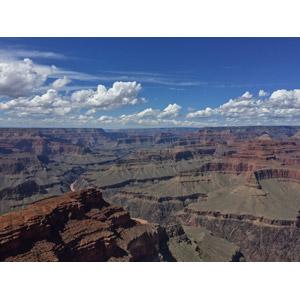 フリー写真, 風景, 自然, 渓谷, 河川, グランド・キャニオン, 世界遺産, アメリカの風景, アリゾナ州, 雲