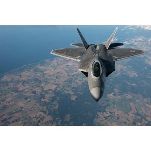 フリー写真, 乗り物, 航空機, 飛行機, 兵器, 戦闘機, F-22 ラプター, アメリカ軍