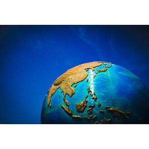 フリー写真, 背景, 地球, 日本列島, 青色(ブルー)