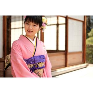 フリー写真, 人物, 女性, アジア人女性, 日本人, 女性(00047), 和服, 着物, 成人式, 正月, 1月