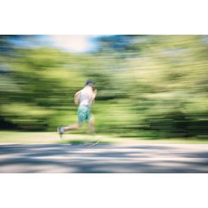 フリー写真, 人物, 男性, 運動, フィジカルトレーニング, ジョギング, 走る, スピード
