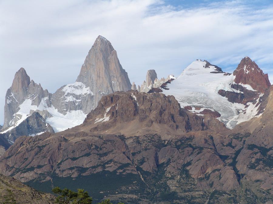 フリー写真 アルゼンチンの山のフィッツ・ロイ