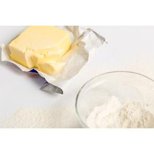 フリー写真, 食べ物(食料), 食用油, 乳製品, バター, 小麦粉, お菓子作り