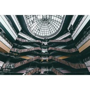 フリー写真, 風景, 建造物, 建築物, 廃墟, ショッピングモール, マレーシアの風景