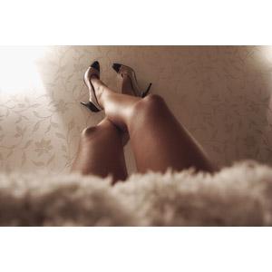 フリー写真, 人体, 足, 脚, 靴(シューズ), ハイヒール, パンプス, レディースファッション