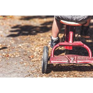 フリー写真, 乗り物, 三輪車, 遊具, 子供