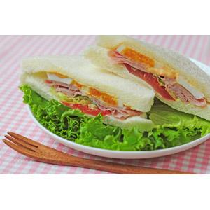 フリー写真, 食べ物(食料), ファーストフード, パン, サンドイッチ(サンドウィッチ), レタス
