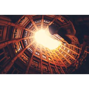 フリー写真, 風景, 建造物, 建築物, カサ・ミラ, アントニ・ガウディ, 世界遺産, スペインの風景, バルセロナ