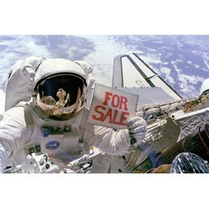 フリー写真, 人物, 宇宙飛行士, 職業, 仕事, セール, 宇宙, 地球, スペースシャトル, 宇宙服