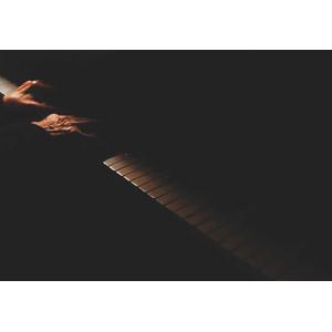 フリー写真, 人体, 手, 音楽, 楽器, 鍵盤楽器, ピアノ, 演奏する