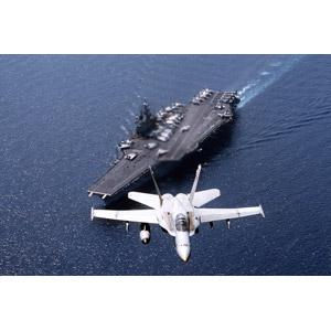 フリー写真, 乗り物, 航空機, 飛行機, 兵器, 戦闘機, F/A-18 ホーネット, アメリカ軍, サラトガ(CV-60), 航空母艦