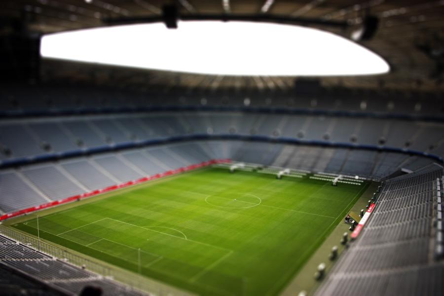フリー写真 アリアンツ・アレーナのサッカースタジアム