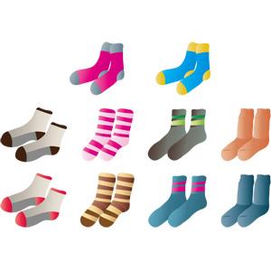 フリーイラスト, ベクター画像, AI, 衣服(衣類), 靴下(ソックス)