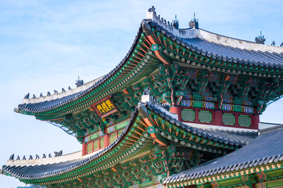 フリー写真 景福宮の興礼門