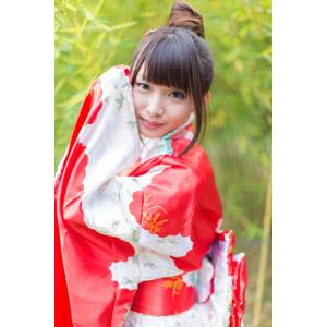 フリー写真, 人物, 女性, アジア人女性, 小花(00096), 中国人, 着物, 和服
