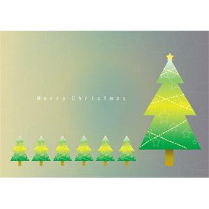 フリーイラスト, ベクター画像, EPS, 背景, 年中行事, クリスマス, 12月, クリスマスツリー, メリークリスマス