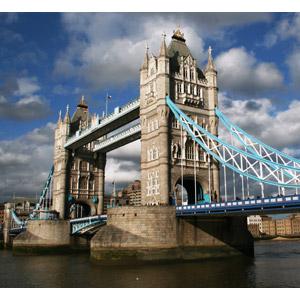 フリー写真, 風景, 建造物, 建築物, 橋, タワーブリッジ, イギリスの風景, ロンドン, テムズ川