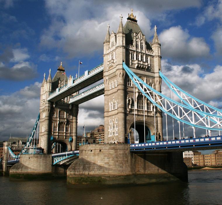 フリー写真 タワーブリッジの風景
