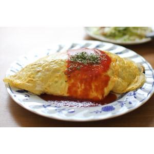 フリー写真, 食べ物(食料), 料理, 日本料理, 洋食, オムライス, 卵料理, 米料理, ケチャップ