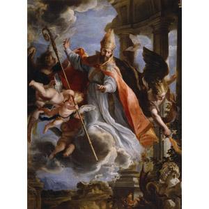 フリー絵画, クラウディオ・コエーリョ, 宗教画, キリスト教, アウグスティヌス, 天使(エンジェル)