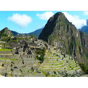 フリー写真, 風景, 建造物, 建築物, 遺跡, マチュ・ピチュ, 山, ペルーの風景, 世界遺産