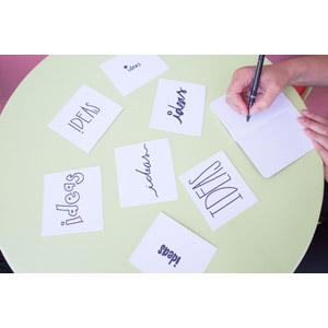 フリー写真, 人体, 手, 書く, 手帳, アイデア, 紙(ペーパー)