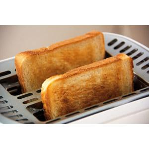 フリー写真, 食べ物(食料), パン, 食パン, 朝食, トースター