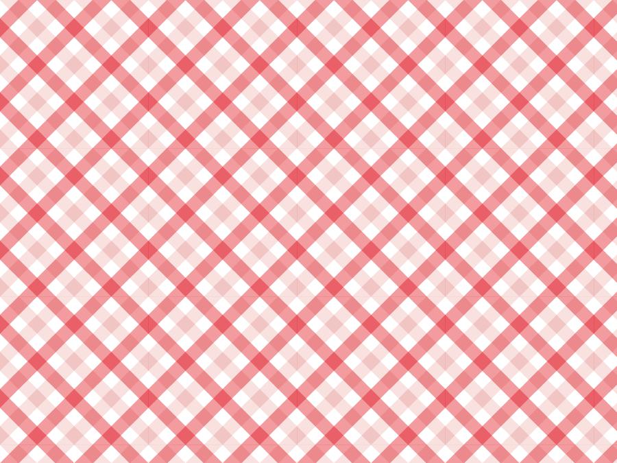 フリーイラスト 赤色のタータンチェックの背景