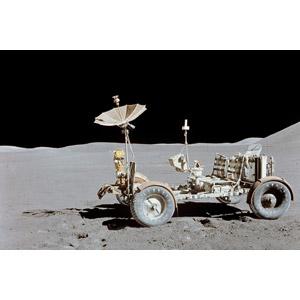 フリー写真, 乗り物, 宇宙, 月, 月面着陸, 月面車, 探査車