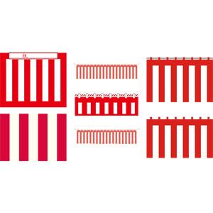 フリーイラスト, ベクター画像, AI, 紅白幕, 紅白, 入学式, 卒業式, 成人式, 入社式