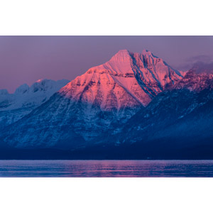 フリー写真, 風景, 自然, 山, 湖, 夕暮れ(夕方), ニューハンプシャー州, アメリカの風景