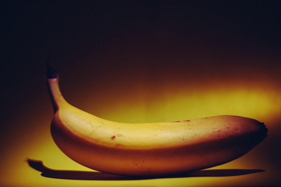 フリー写真 一本のバナナ