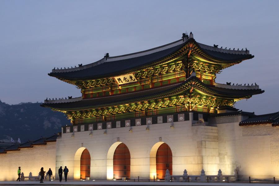 フリー写真 景福宮の光化門