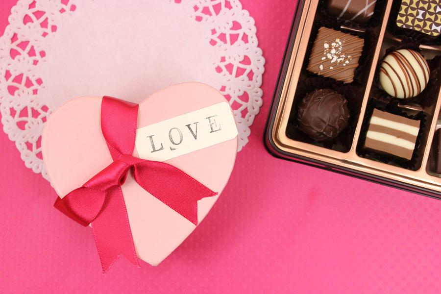 フリー写真 バレンタインチョコレート