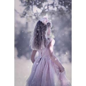 フリー写真, 人物, 子供, 女の子, 外国の女の子, 女の子(00236), ドレス