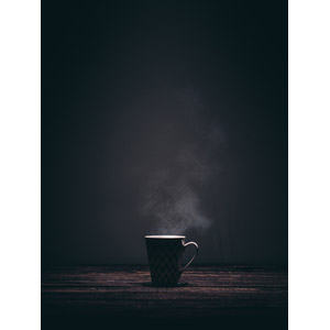 フリー写真, 食器, マグカップ, 湯気