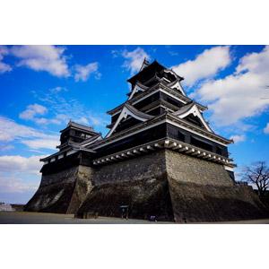 フリー写真, 風景, 建造物, 建築物, 城, 熊本城, 日本の風景, 熊本県