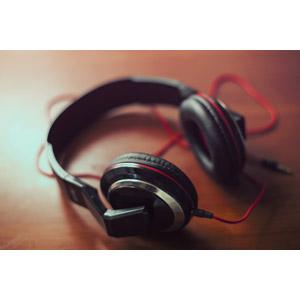 フリー写真, 家電機器, 音楽, ヘッドホン(ヘッドフォン)