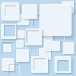 フリーイラスト, ベクター画像, AI, 背景, 抽象イメージ, 四角形(スクエア), 幾何学模様, 青色(ブルー)