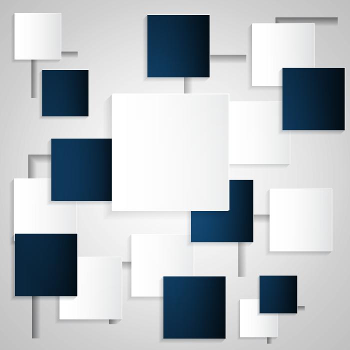フリーイラスト 四角形の抽象イメージの背景
