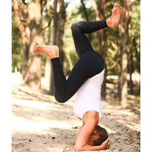 フリー写真, 人物, 女性, 外国人女性, 運動, ヨガ, 体操, ストレッチ, 逆立ち