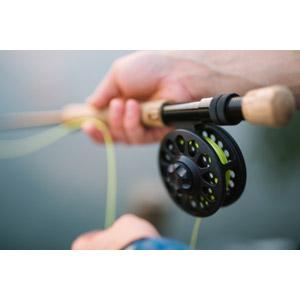 フリー写真, 人体, 手, 魚釣り(フィッシング), 釣り竿, リール