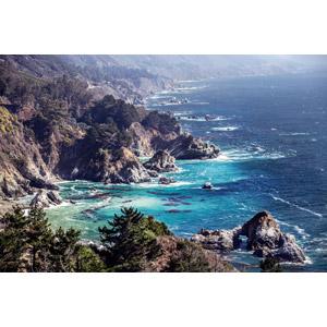 フリー写真, 風景, 自然, 海, 海岸, アメリカの風景, カリフォルニア州, 岩